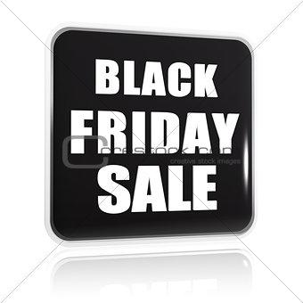 black friday sale black banner