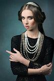 aristocratic vintage dame