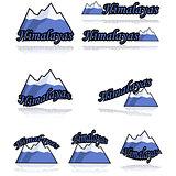 Himalayas icons