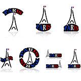 Paris icons