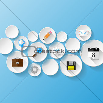 Abstract background.  Web concept