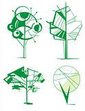 Вecorative ornamental tree