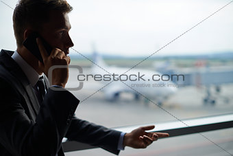 Calling in airport