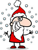 santa claus cartoon illustration