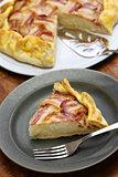 homemade bacon lattice pie