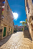 Stari grad on Hvar island old square