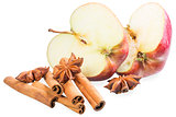 a delicious mix of apple, star anise and cinnamon