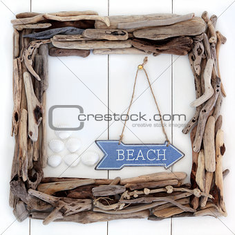 Beach Wood Frame