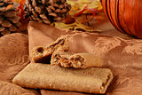 Pumpkin snack bars