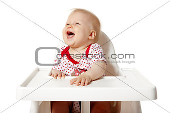 Baby Sitting At The Table