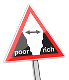 gap between poor and rich