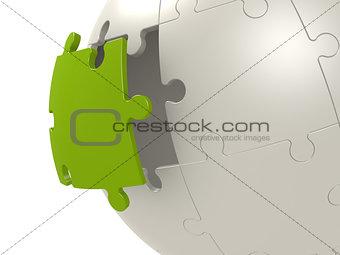 Green last puzzle