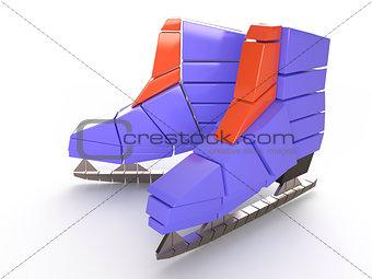Skates, 3D