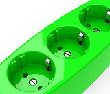 the green sockets