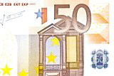 one banknote 50 euro