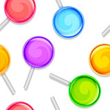 Color lollipops pattern.