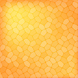 Abstract orange geometric background