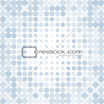 Abstract dotted blue background
