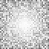 Abstract dotted grayscale background