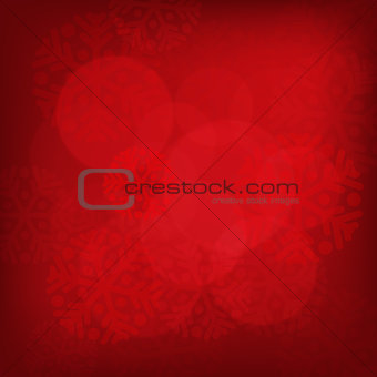 Abstract red christmas background