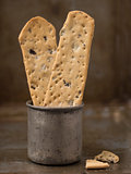 rustic crispy italian flatbread