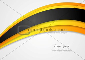 Bright corporate vector background