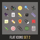 Flat icons set 2