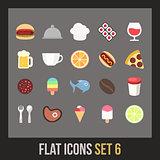 Flat icons set 6