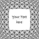 Design monochrome decorative background for text
