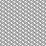 Design seamless monochrome twisted wave pattern