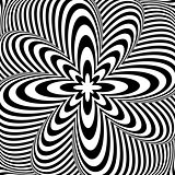 Design monochrome swirl rotation background