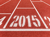 New year 2015 diggits on sport track. Good start, growing busine