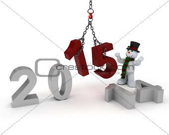 bringing in the new year