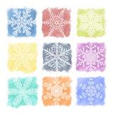 Snowflake Pastels Set