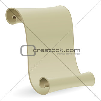 Blank Antique Scroll