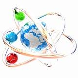 3d atom. Global concept