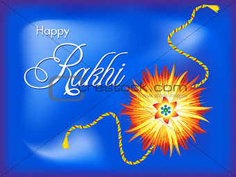 abstract artistic rakshabandhan background
