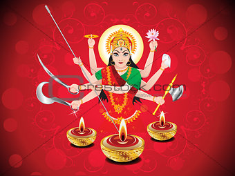 abstract navratri background