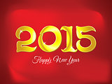 abstract artistic golden new year background
