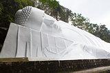 Lying Buddah statue in Ta Cu mountain, Vietnam.