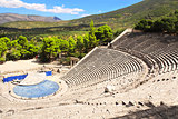 Ancient Epidaurus theater, Peloponnese, Greece