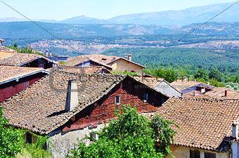 Old village, Mogarraz, Spain