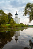 Church of Intercession of Holy Virgin on the Nerl River early in