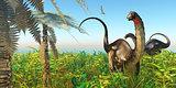 Apatosaurus Dinosaur Garden