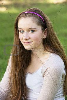 Grinning Teen Close Up