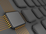 main chip on board