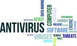 word cloud - antivirus