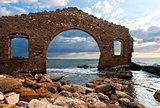 Ruins of factory, Avola, Sicily (Italy)