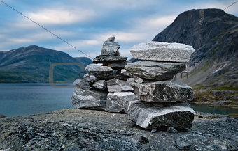 Cairns in Norway
