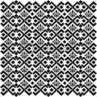 black geometric retro background